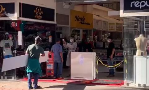 Sem novo decreto em Goiânia, lojas da Região da 44 reabrem após mais de três meses fechadas
