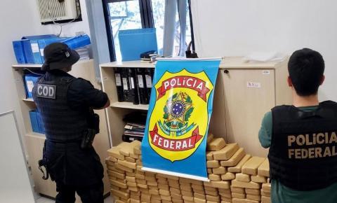 Carga de 400 kg de pasta base de cocaína avaliada em R$ 10 milhões é apreendida após ação integrada entre forças de segurança de MG, GO e MT