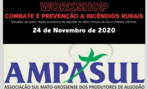Prefeitura Municipal e SEDEMA estarão presentes no Workshop da AMPASUL