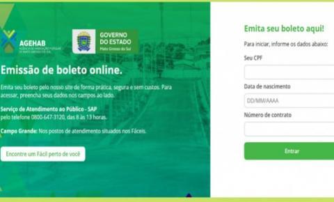 Com emissão de boleto online AGEHAB facilita a vida dos beneficiários