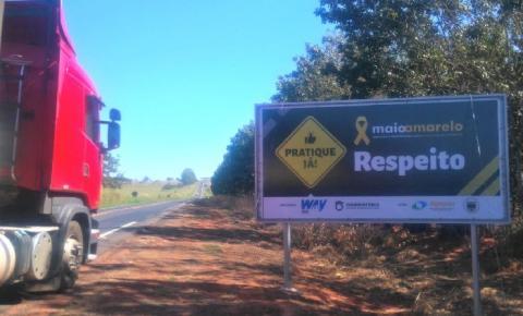 Way-306 faz campanha de apoio ao Movimento Maio Amarelo
