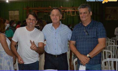 Esteve presente no Lançamento do Livro do Padre Xaviar o deputado Bruno Peixoto (MDB)