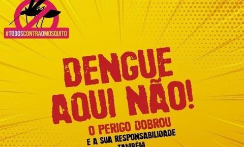 Caminhada contra a Dengue acontece dia 11