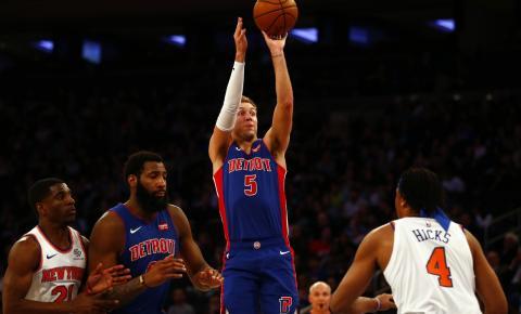 Pistons batem os Knicks, ficam com última vaga do Leste e pegam os Bucks nos playoffs